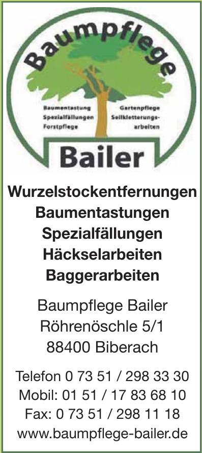 Baumpflege Bailer