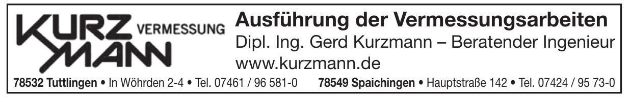 Kurzmann Vermessung