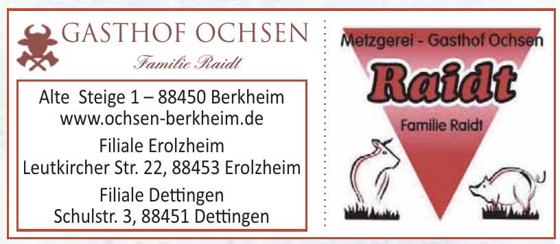 Metzgerei Gasthof Ochsen