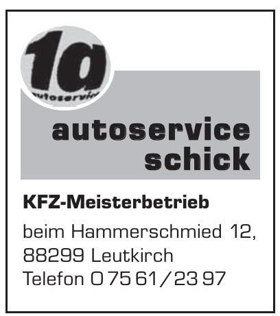 1a Autoservice Schich