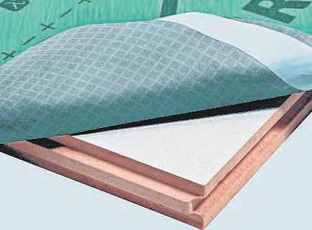 Spezielle Systeme zur Aufsparrendämmung des Dachs verbinden hohe Effizienz mit geringen Materialstärken.