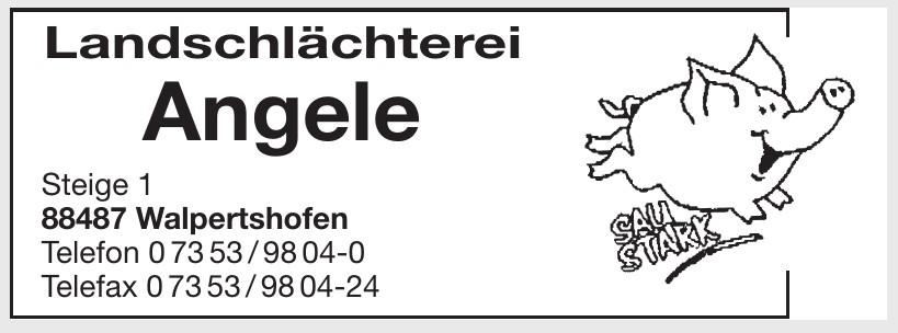 Landschlächterei Angele