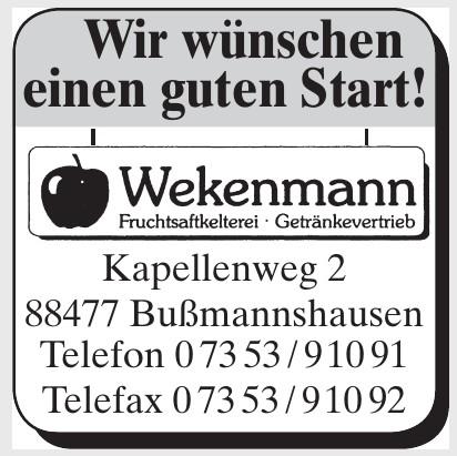 Wekenmann