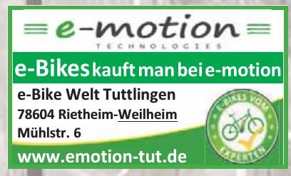 e-motion e-Bike Welt Tuttlingen