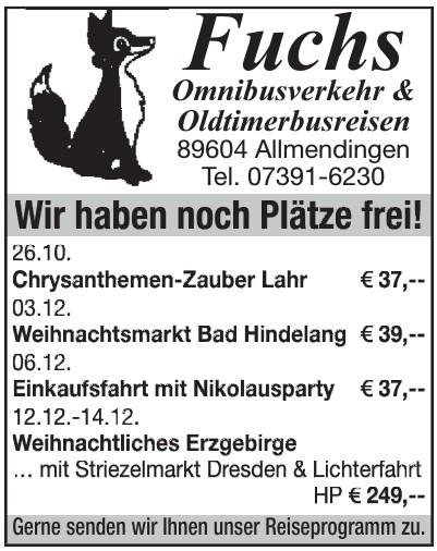 Fuchs Omnibusverker & Oldtimerbusverein