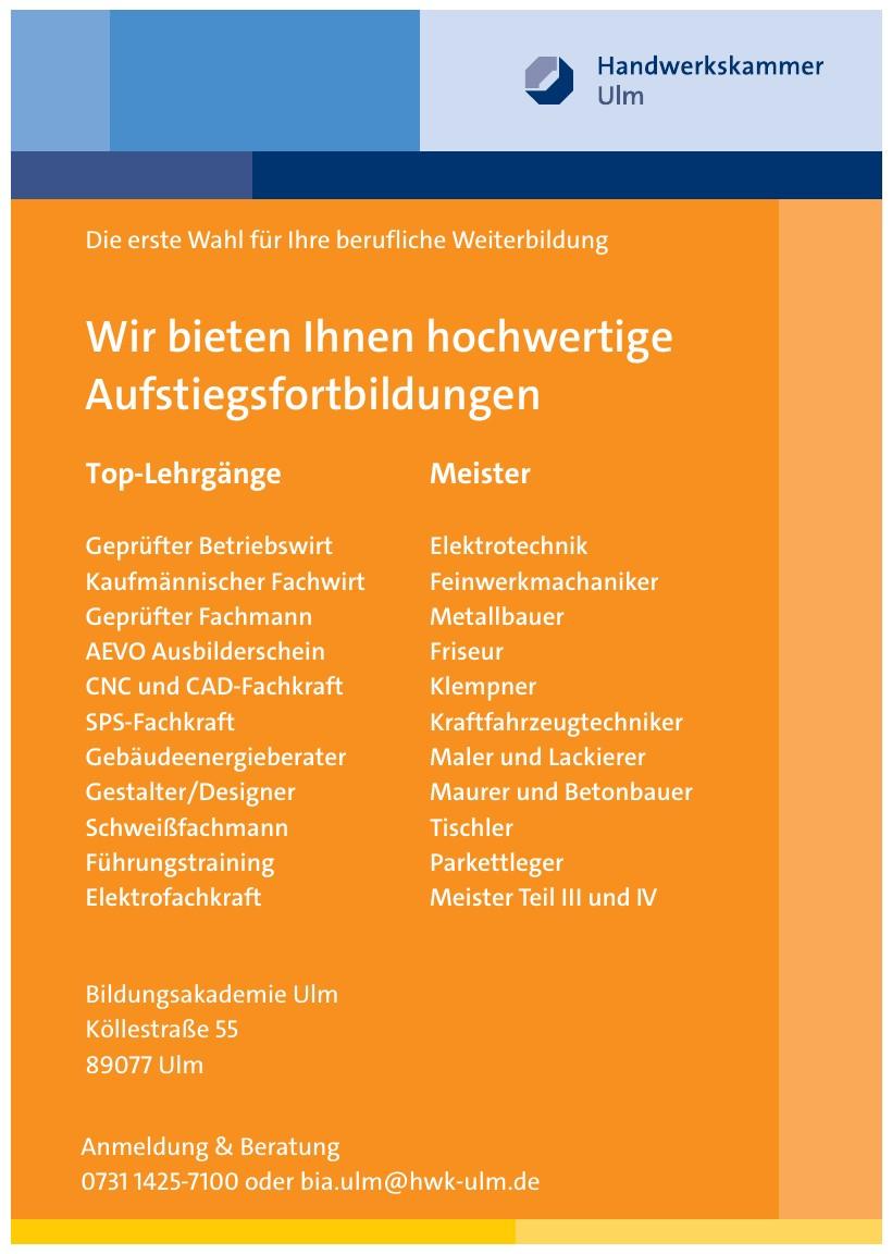 Bildungsakademie Ulm