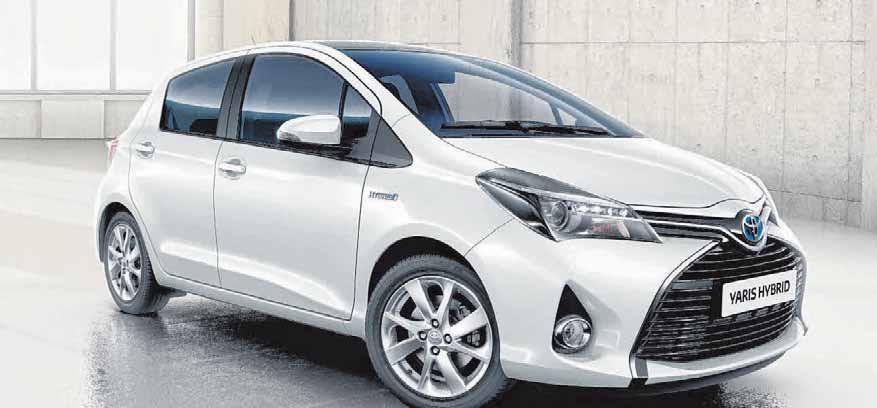 Der Toyota Yaris Hybrid ist eine Alternative.. FOTO: SUSANNE SCHULZ