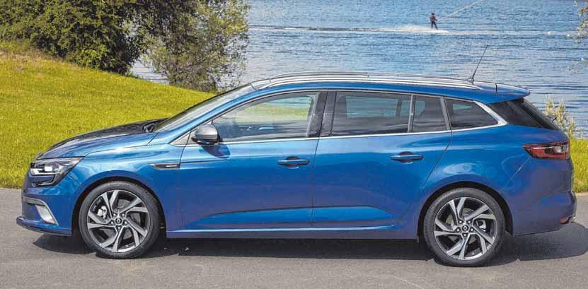 Auch der Renault Megane ist eine gute Option für die Zukunft. FOTO: RENAULT