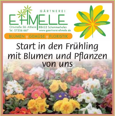Gärtnerei Ehmele