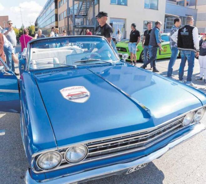 Als Autos noch individuell designt wurden: Das US-Car-Treffen in Gosheim ist ein echtes Highlight.FOTO: GRAVENSTEIN
