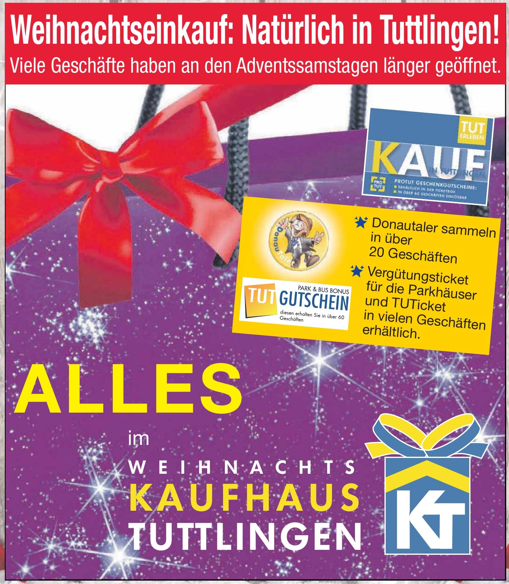 Weihnachts Kaufhaus Tuttlingen