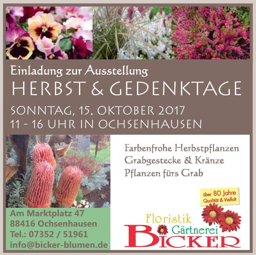 Bicker Floristik - Gärtnerei