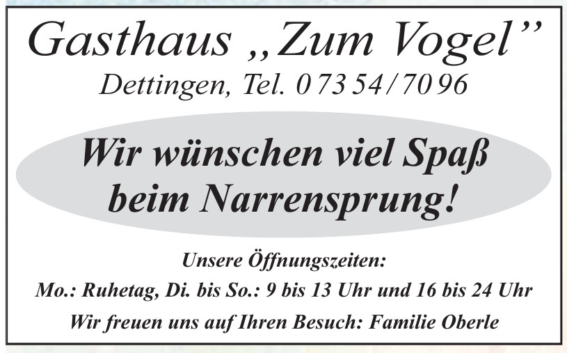 """Gasthaus """"Zum Vogel"""""""