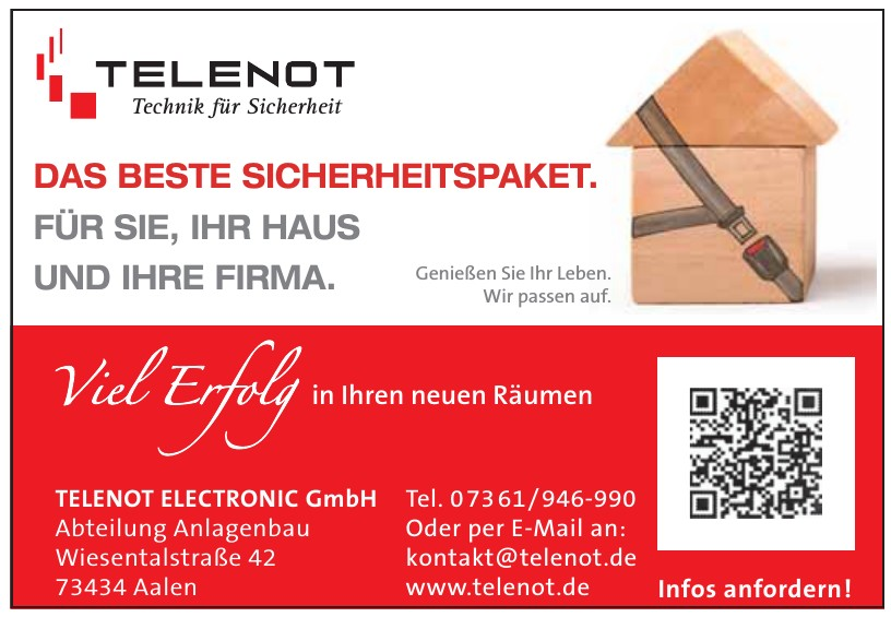 Telenot Electronic GmbH Abteilung Anlagenbau
