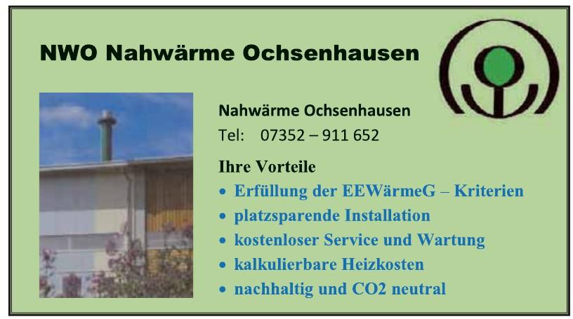 Nahwärme Ochsenhausen Verwaltungs GmbH