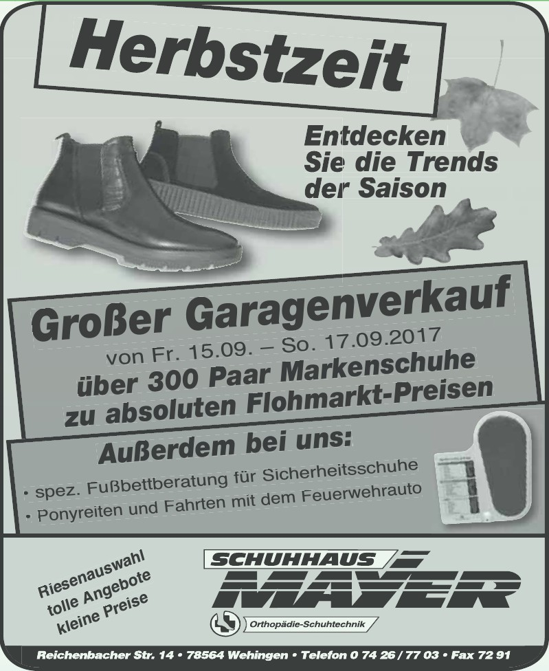 Schuhhaus Mayer