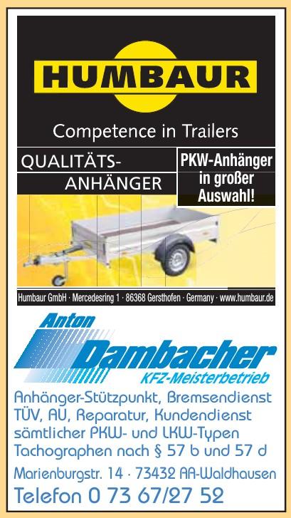 Anton Dachbacher KFZ-Meisterbetrieb
