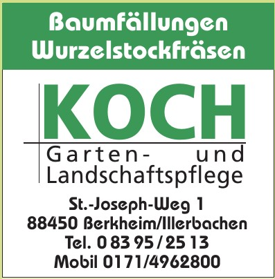 Koch, Garten und Landschaftspflege