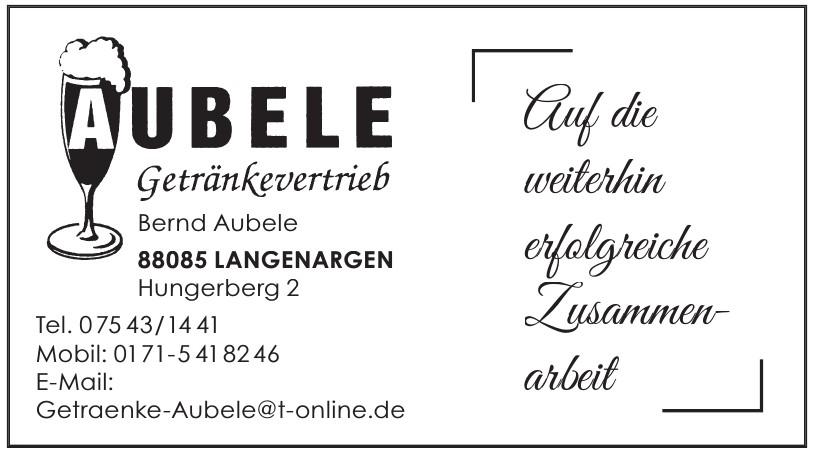 Bernd Aubele Getränkevertrieb