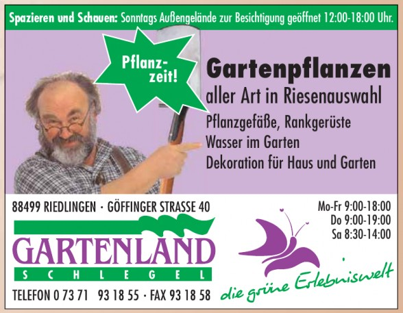 Gartenland Schlegel KG