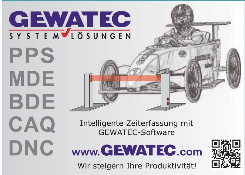 Gewatec GmbH & Co KG
