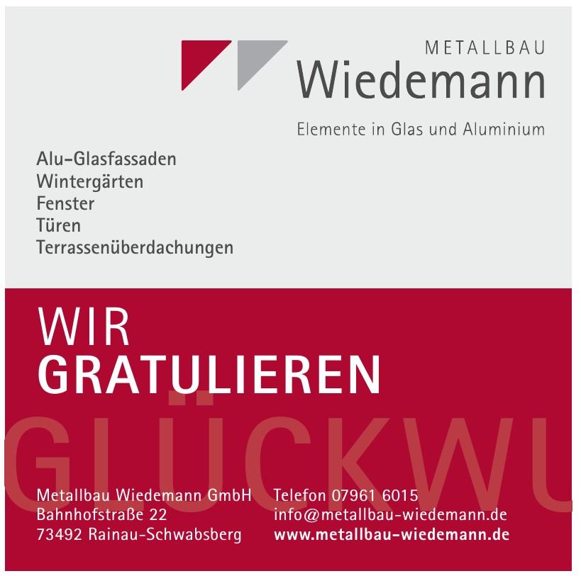 Metallbau Wiedemann GmbH