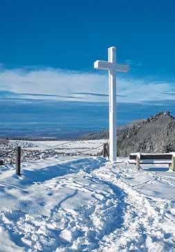 Winter-Idylle auf dem Heuberg. FOTO: GISELA SPREN