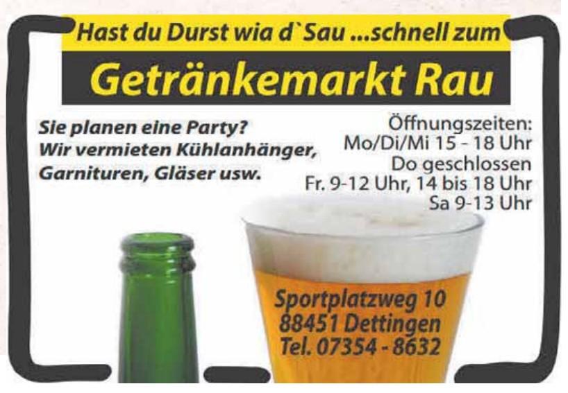 Günter Rau Getränkemarkt