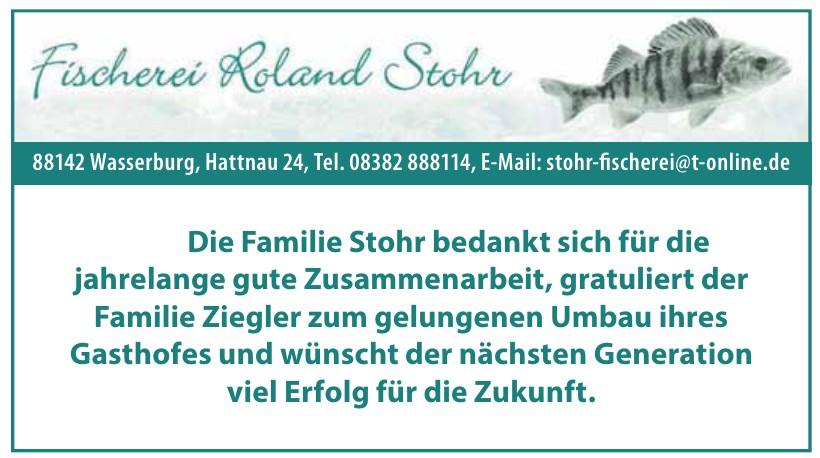 Fischerei Roland Stohr