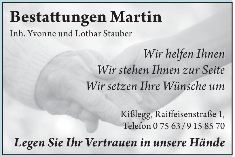 Bestattungen Martin