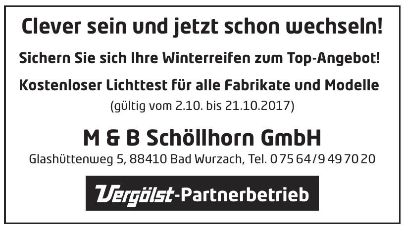 M & B Schöllhorn GmbH