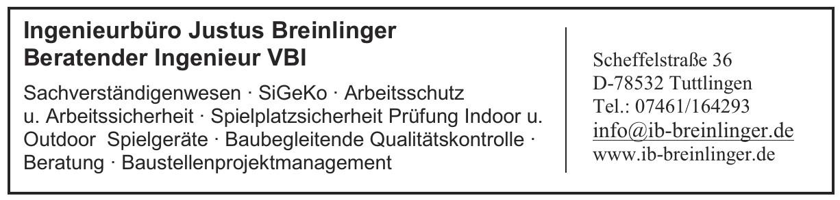 Breinlinger Ingenieure Hoch- und Tiefbau GmbH
