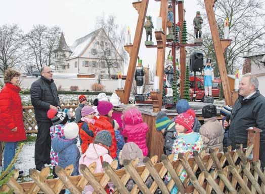 Weihnachtsmarkt Unterschneidheim