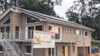 Energieeffiziente Häuser auf Holzbasis - so baut man heute